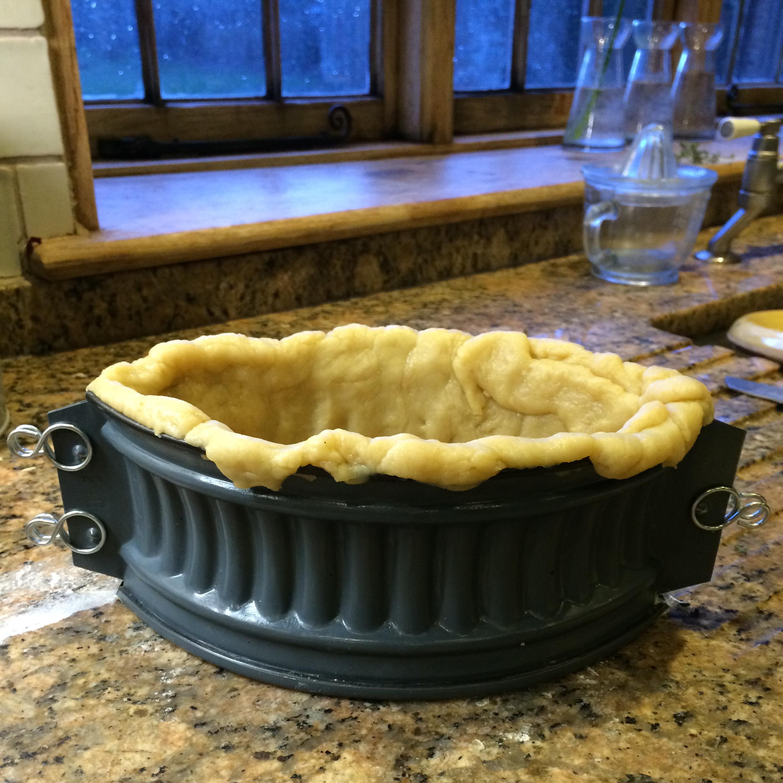 Mushroom Leek And Ricotta Hot Water Crust Pastry Pie Everyonelovesafungi